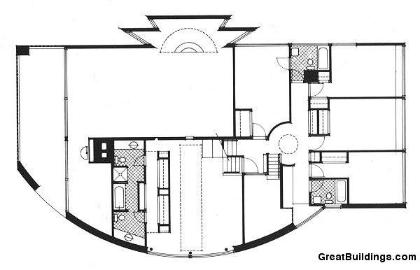 Great Buildings Drawing - Brant House