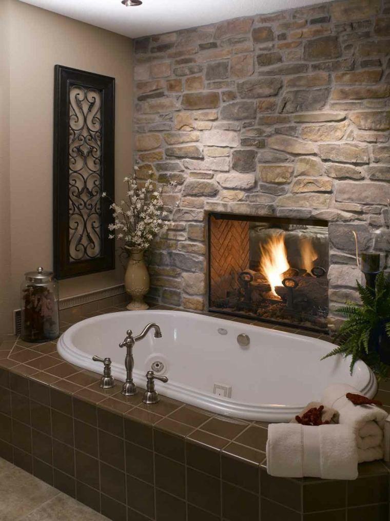 Salle de bain pierre et bois  une beauté naturelle Luxury