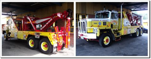 Photo of Holmes 1801 @ 45 Ton Hydraulic & Zack-Lift Under-Reah  Old Iron Meets New  One B…