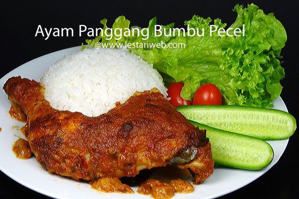 Kumpulan Resep Asli Indonesia Ayam Panggang Bumbu Pecel Resep Ayam Panggang Resep Masakan Indonesia Resep