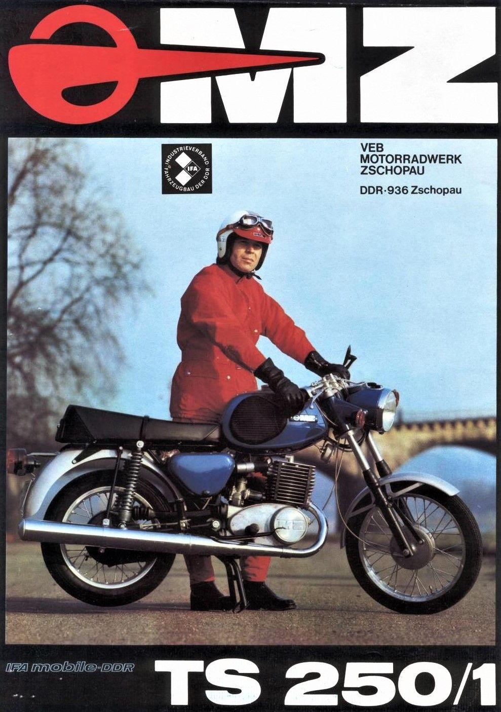 Mz Ts 250 1 East German Car Trike Motorcycle Vintage Motorcycles