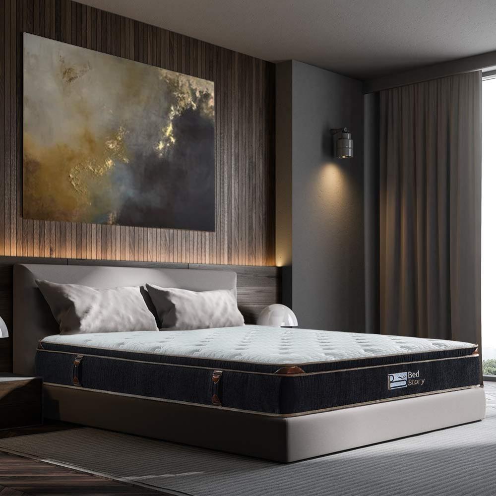 Pin by Bennie Brawley on Furniture Hybrid mattress, King