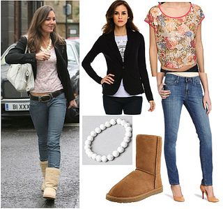 Kate Middleton casual look for less - ugg boots by Creative Fashion, via Flickr