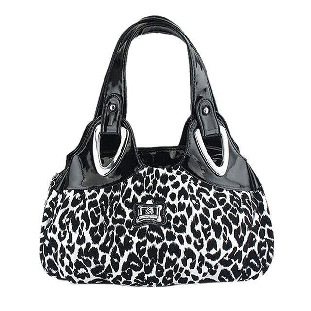 Fashion handbag Women PU Bag To Bag Printing Handbags -Dream safflower
