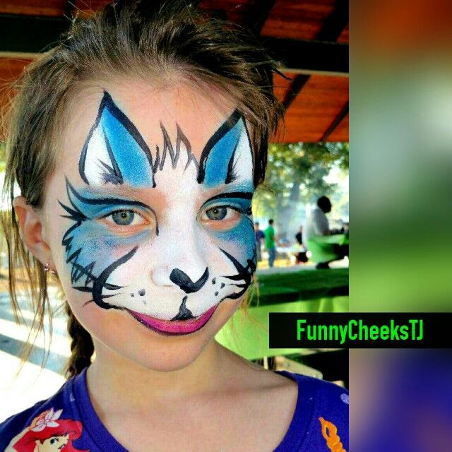 Birthday Party face painting by FunnyCheeksTJ Dallas Face Painter