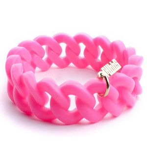 Signature Bracelet Neon Pink, $20, now featured on Fab.