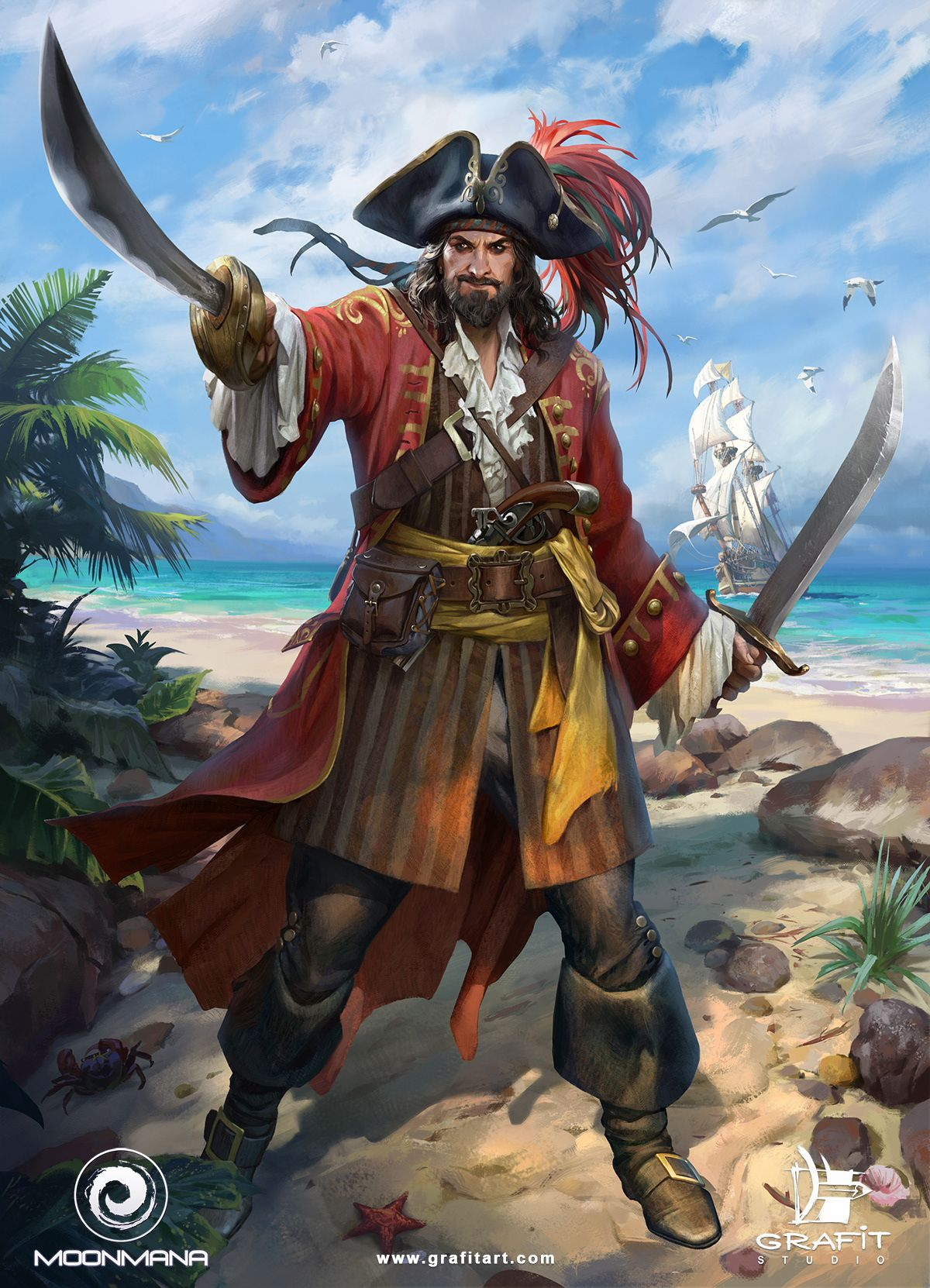 Ultimate Pirates on Behance | Pirate art, Pirates, Pirate boats