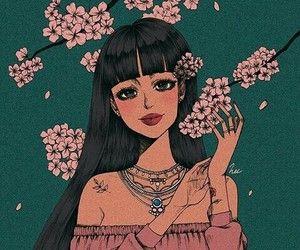 Картинка с тегом «art, drawing, and flowers» | Рисунки ...