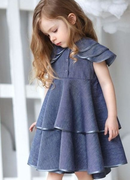 Fotografiya Kids Summer Fashion Dresses Kids Girl Toddler Dress