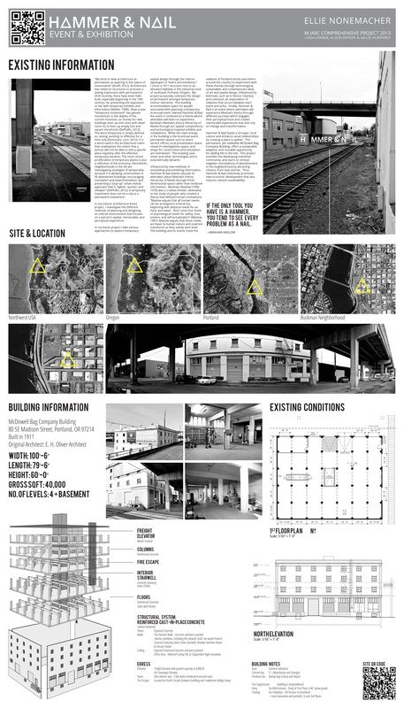 Enly Printed Layout Thesis Project Hammer Nail Interior