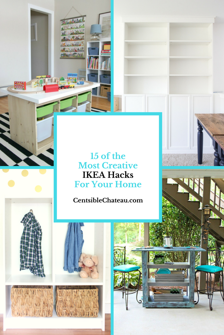 15 of the Most Creative Ikea Hacks for Your Home | Bloggers\' Best ...