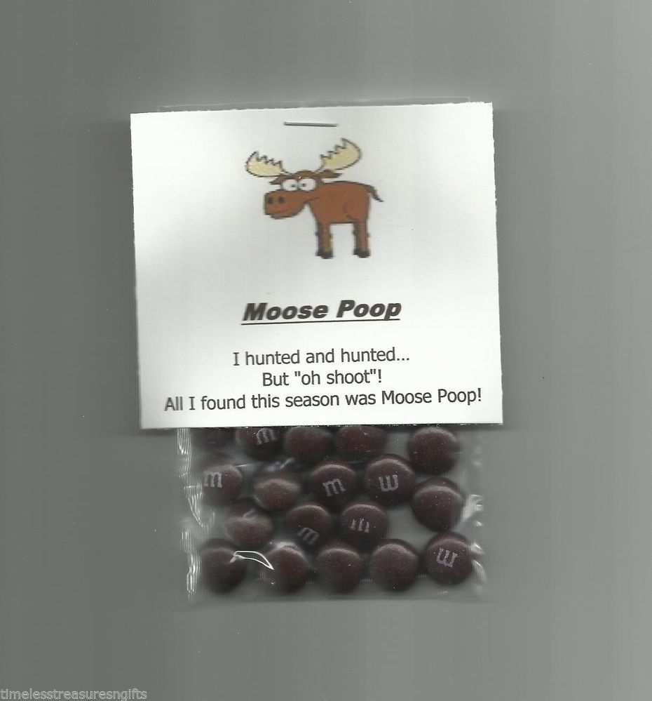 New homemade moose poop chocolate candy novelty gag gift