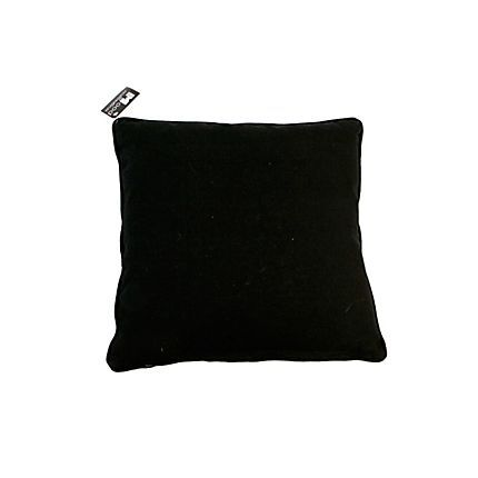 In the Mood collection pillow case black cotton