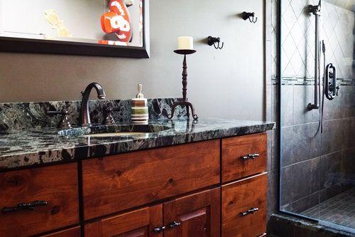 Bathroom Remodel. Naperville, IL. Level Edge Builders.