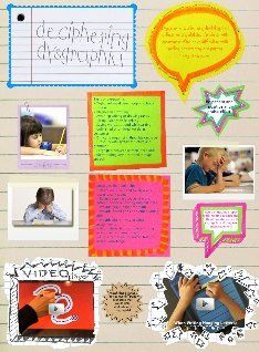 dyspraxia writing slope