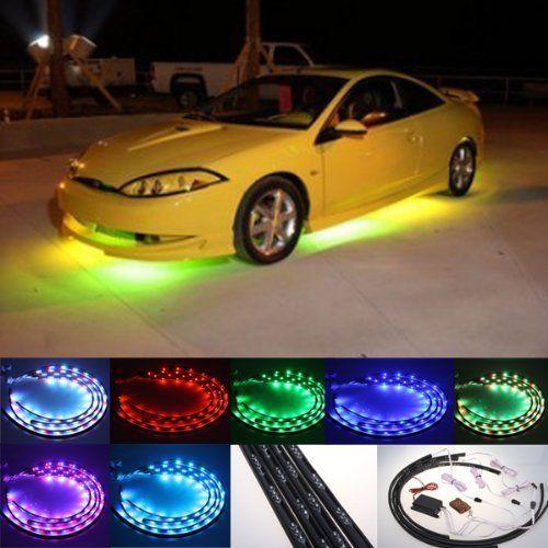 DIYAH 7 Color High Intensity LED Car Underglow Underbody ... | Car ...