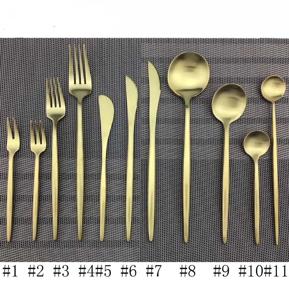 Photo of Gold Cutlery Set