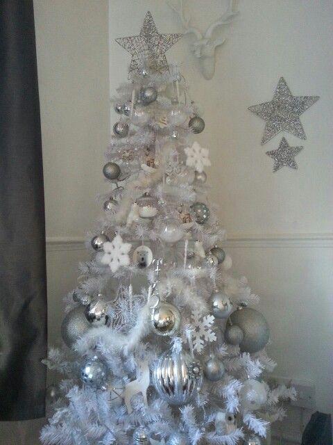 My white xmas tree