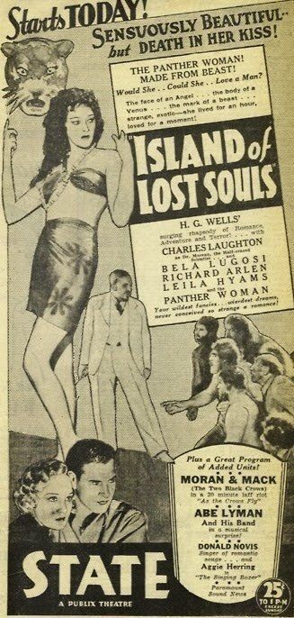 Lost Person Poster Fair Island Of Lost Souls 1932  Movies  Pinterest  Movie