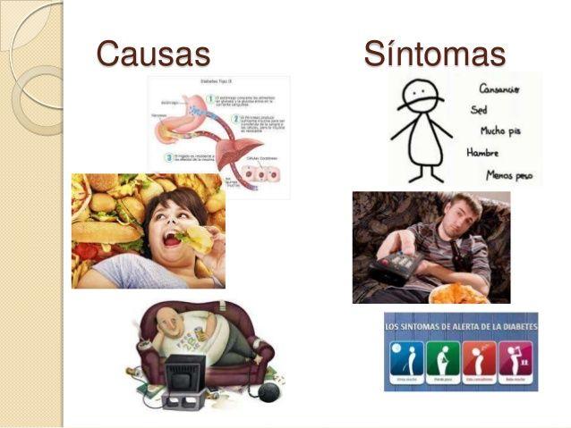 sintomas y causas de la diabetes