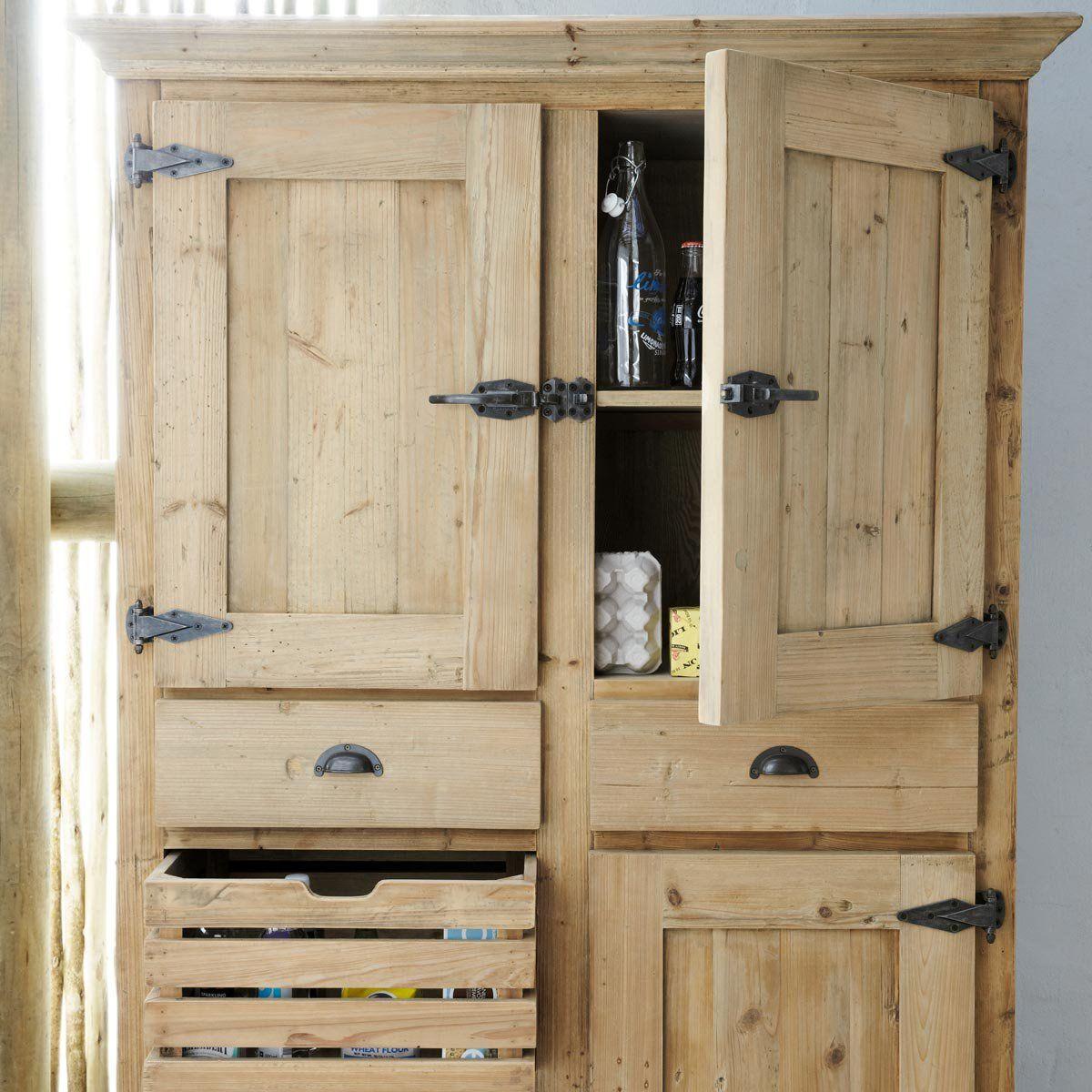 Alacena de madera reciclada pagnol mr pickwick for Muebles con madera reciclada