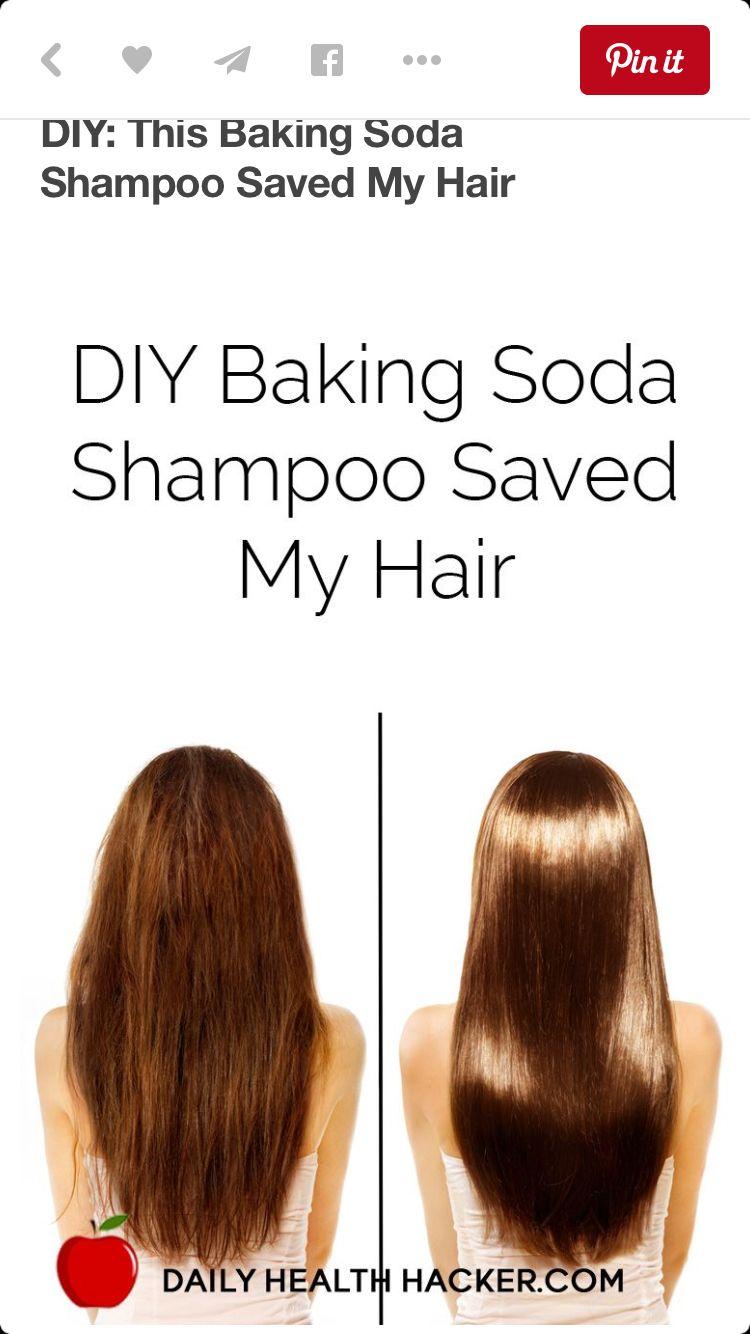 Diy baking soda hair product baking soda shampoo beauty