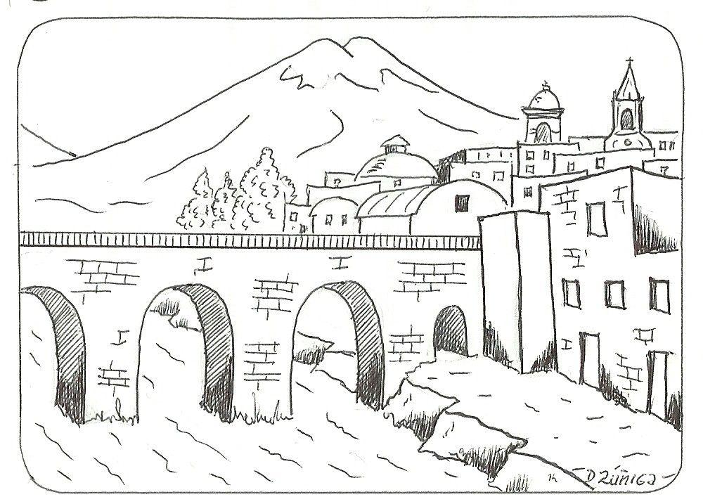 PAISAJES PARA COLOREAR | paisajes andinos | Pinterest | Drawing ...