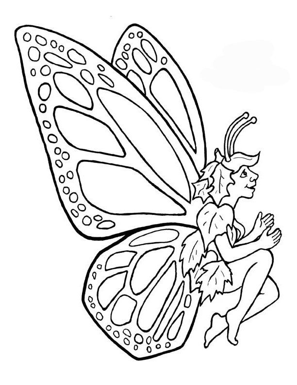 Male Fairy With Leaves
