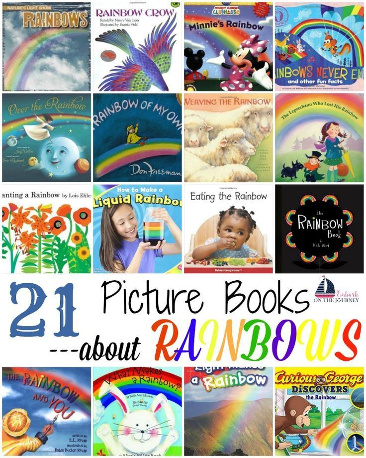 50++ Best childrens books about rainbows ideas