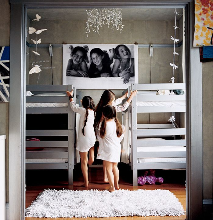 Homemade Happiness Cool Kids Rooms Bunk Beds Bunk Rooms