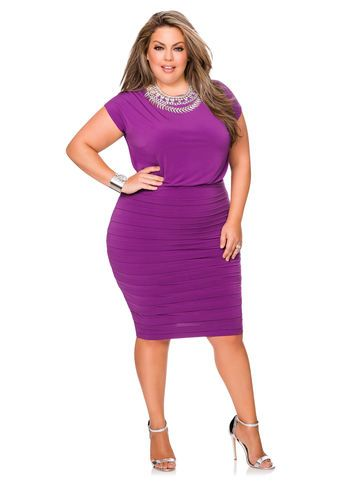 0ef615c36c0 Blouson Pleated Bottom Dress Blouson Pleated Bottom Dress