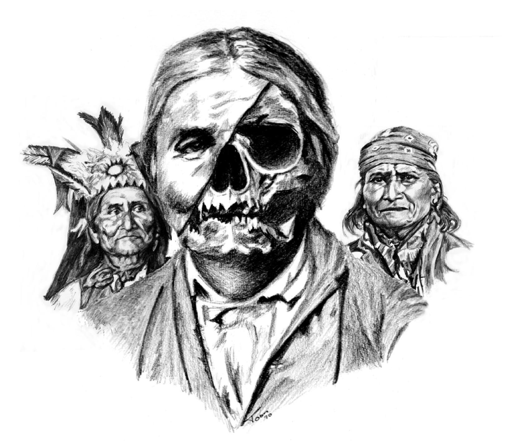 geronimo skull - Google Search