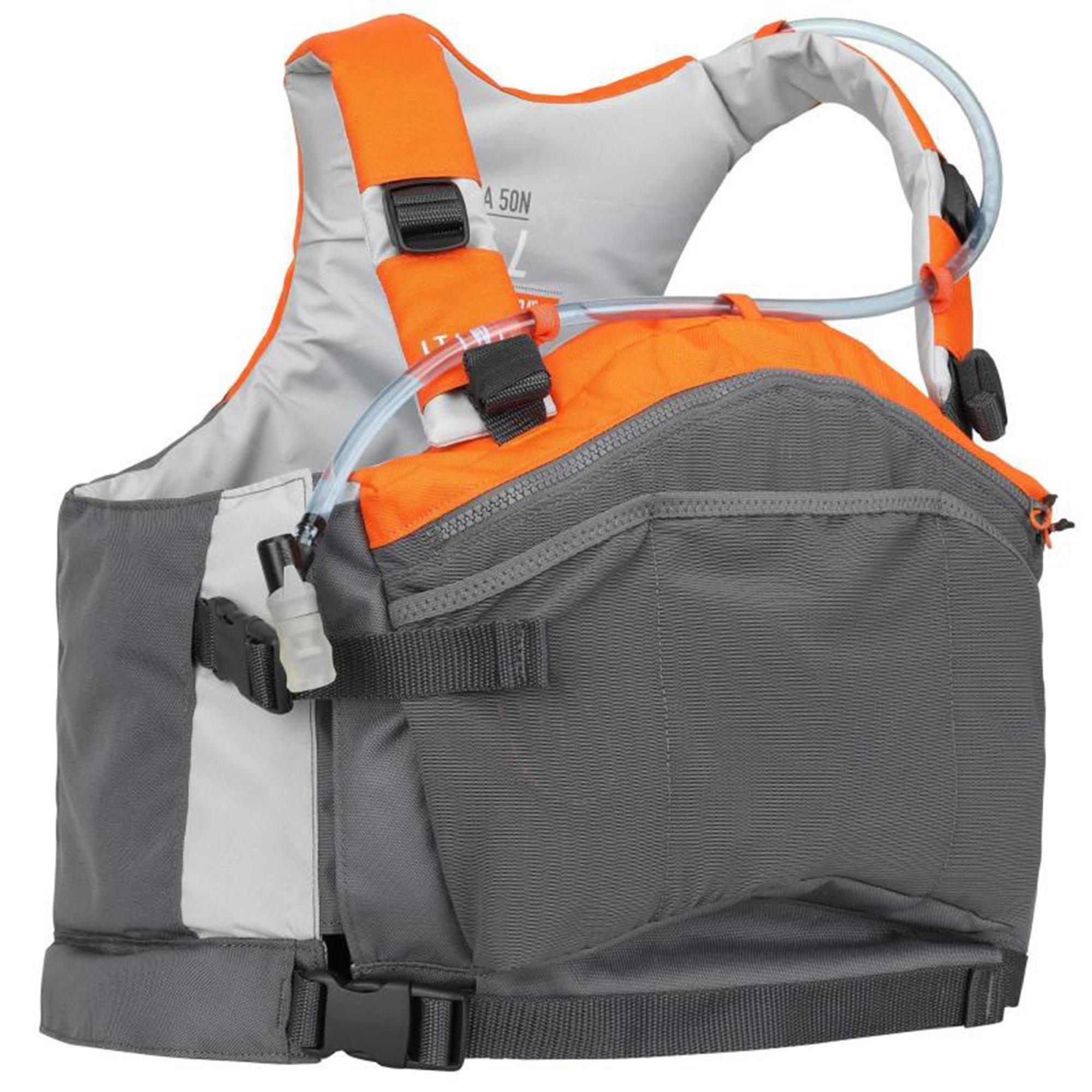 Gilet D Aide A La Flottabilite 50n Pockets Pour La Pratique Du Canoe Kayak En 2020 Kayak Flottabilite Canoe