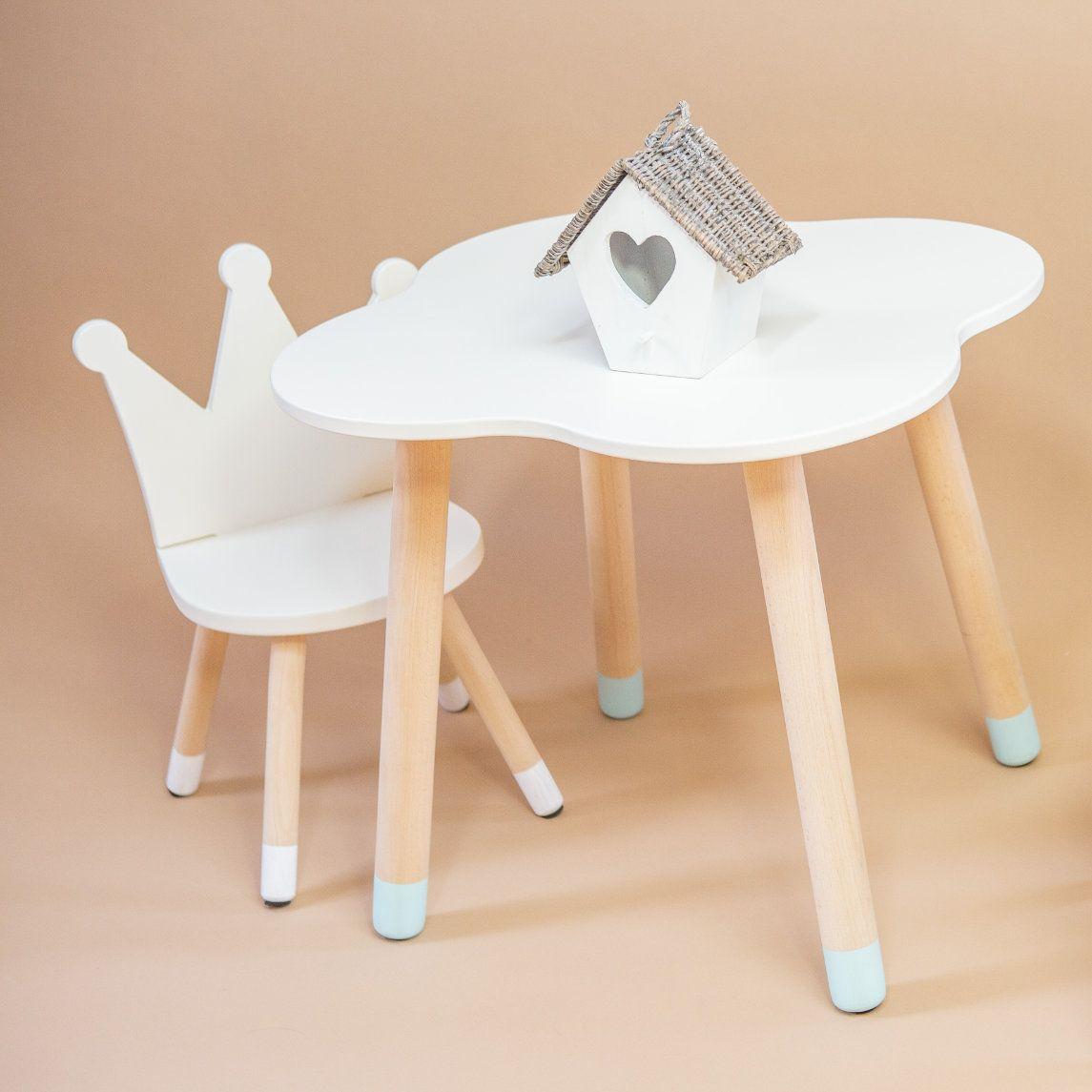 Skandináv stílusú gyerek asztal és szék szett Szék