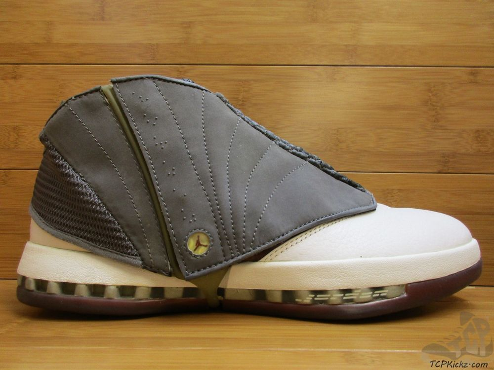 b74f119a53c Nike Air Jordan XVI 16 s sz 11.5 Cherrywood OG Original 2001 White Graphite  DS #Jordan #AthleticSneakers #tcpkickz #rareair
