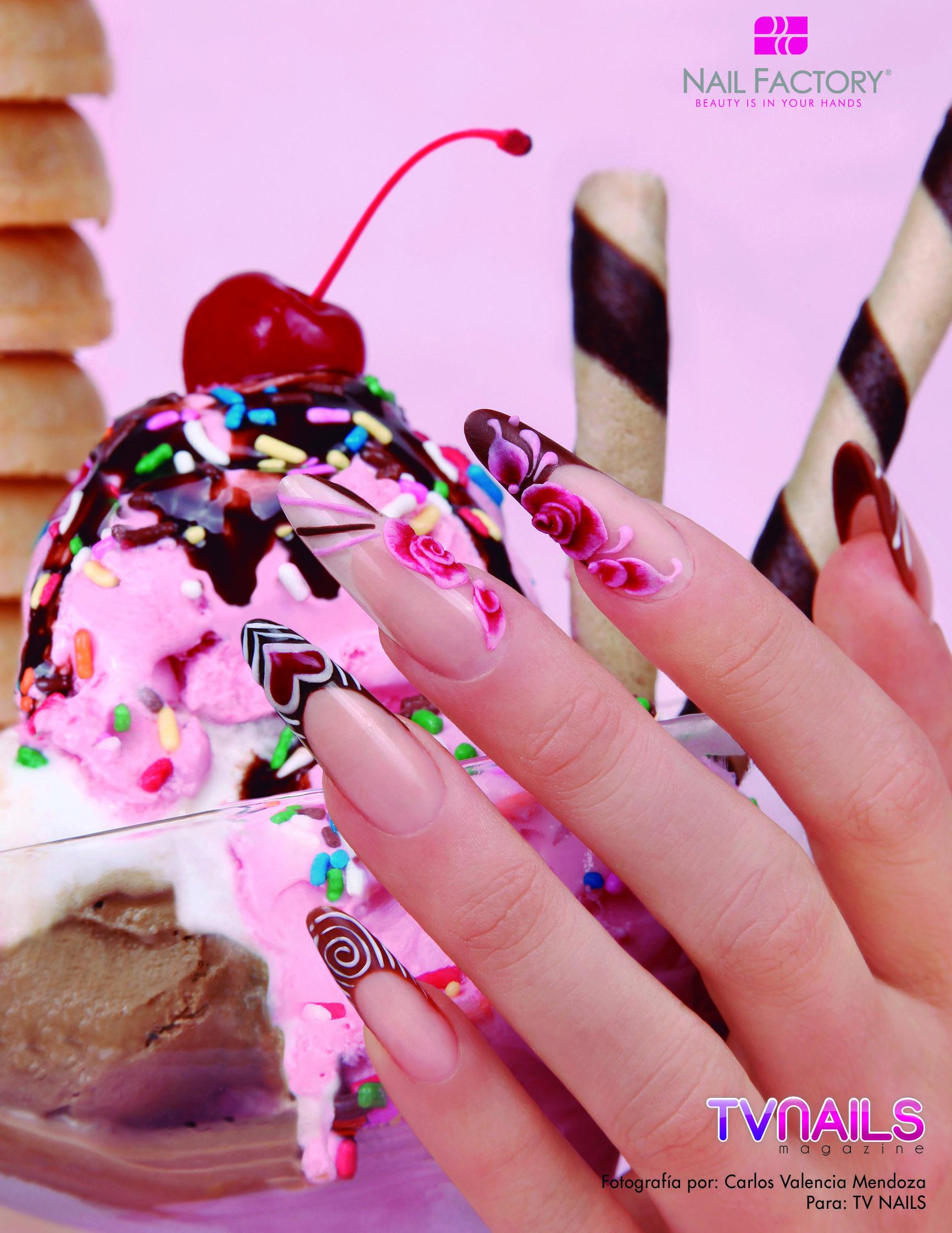 Nails Nailart Nail Unas Acrylic Acrilicas Lovenail