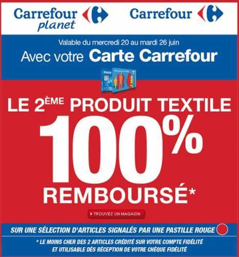 Carrefour Pre Soldes Ete Textile 100 Rembourse Soldes Ete