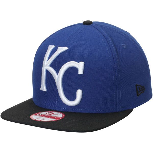 72bc3773c11 Men s Kansas City Royals New Era Royal White Logo Grand Redux 9FIFTY  Adjustable Hat