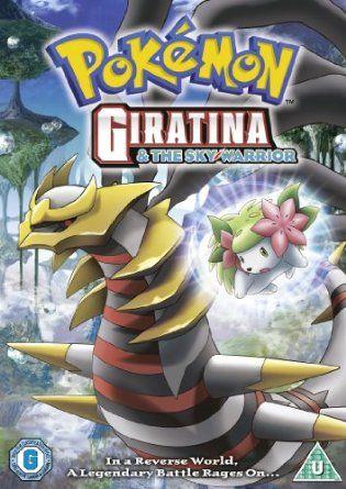 Pokemon Giratina And The Sky Warrior Dvd Amazon Co Uk