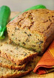 Here's a healthy bread recipe that is low sodium. This zucchini bread is a healthy snack for any time of the day.