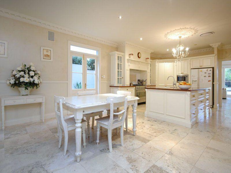 Downstairs kitchen of queenslander home dining room for Kitchen ideas for queenslanders