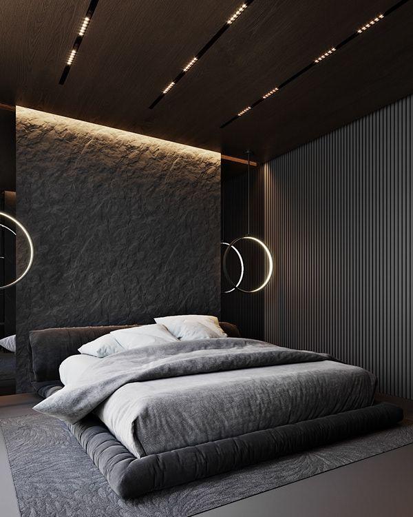 Dark grey apartment
