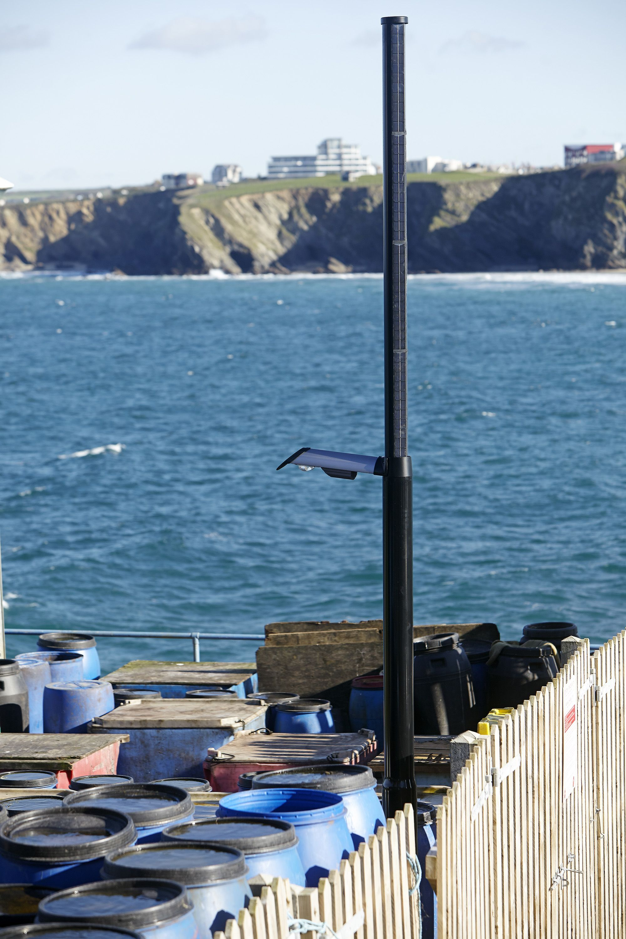 Cornwall Council Newquay Harbour With Images Solar Solutions Newquay Harbour