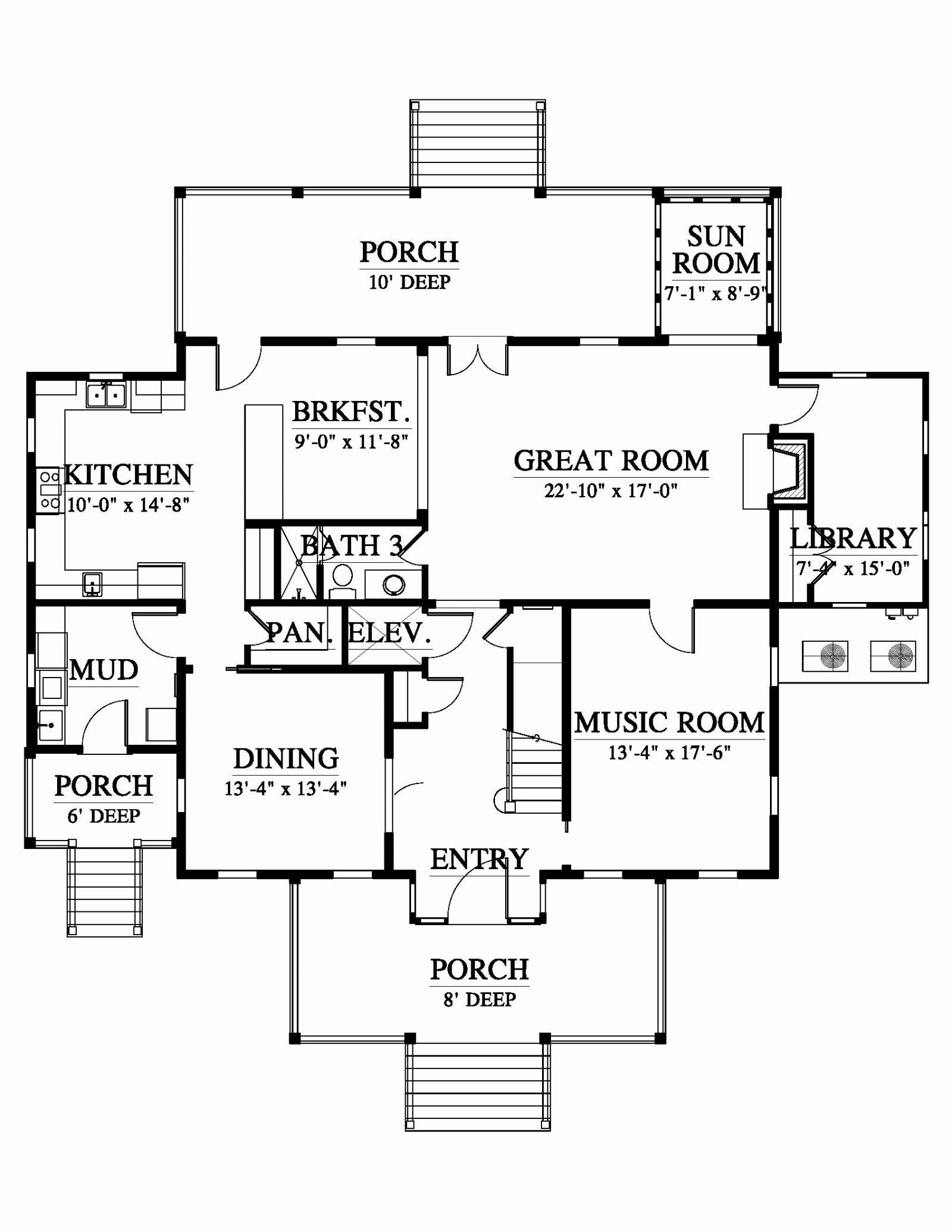 23 Ranch Floor Plans With Walkout Basement 25 Awesome 1500 Square Feet House Plan Architectur In 2020 Haus Grundriss Haus Plane Moderne Hausgrundrisse