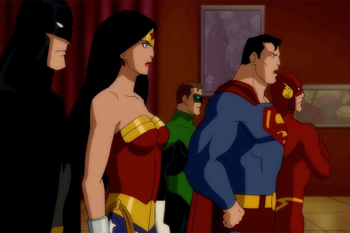 Entertainment Uproxx Justice League Doom Justice League Tv Show Doom Movie
