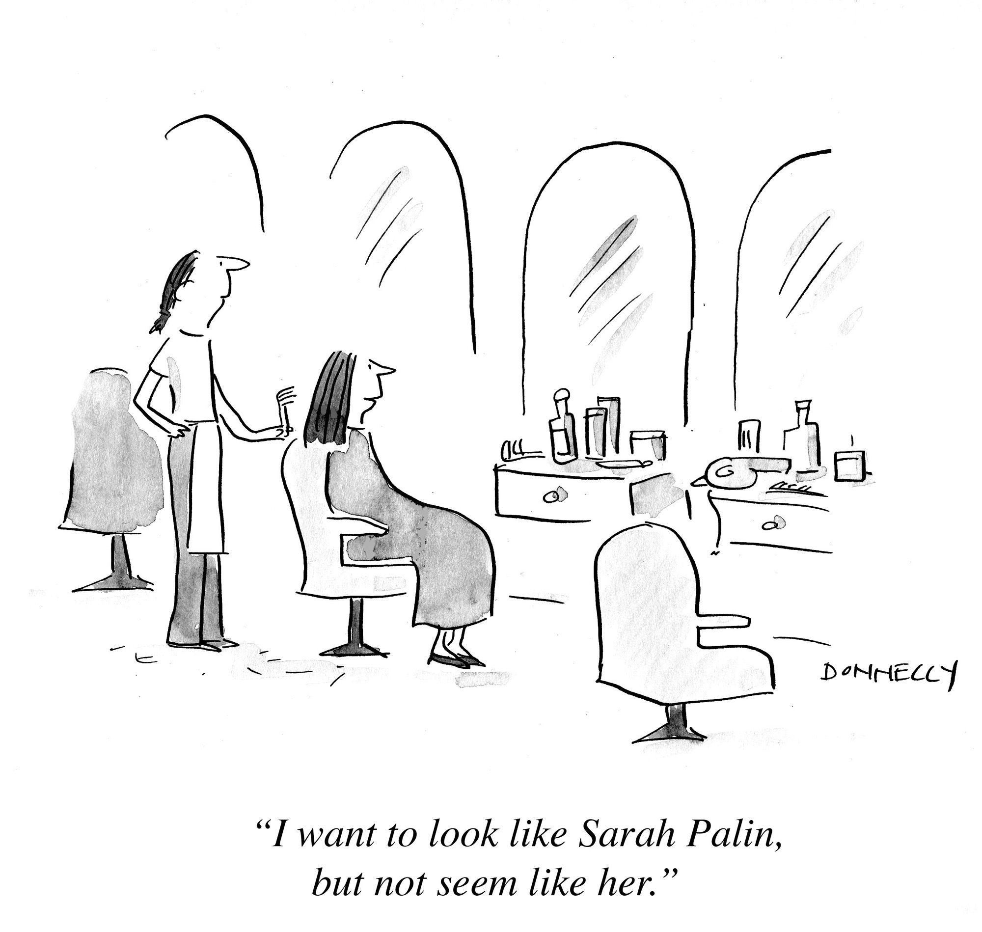 Liza Donnelly Cartoons New Yorker Cartoonist Comic