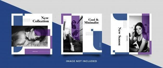 media post template  Premium VectorMinimalist social media post template  Premium Vector Drink a now What an awesome and Social Media Templates Medical  Social Media Temp...