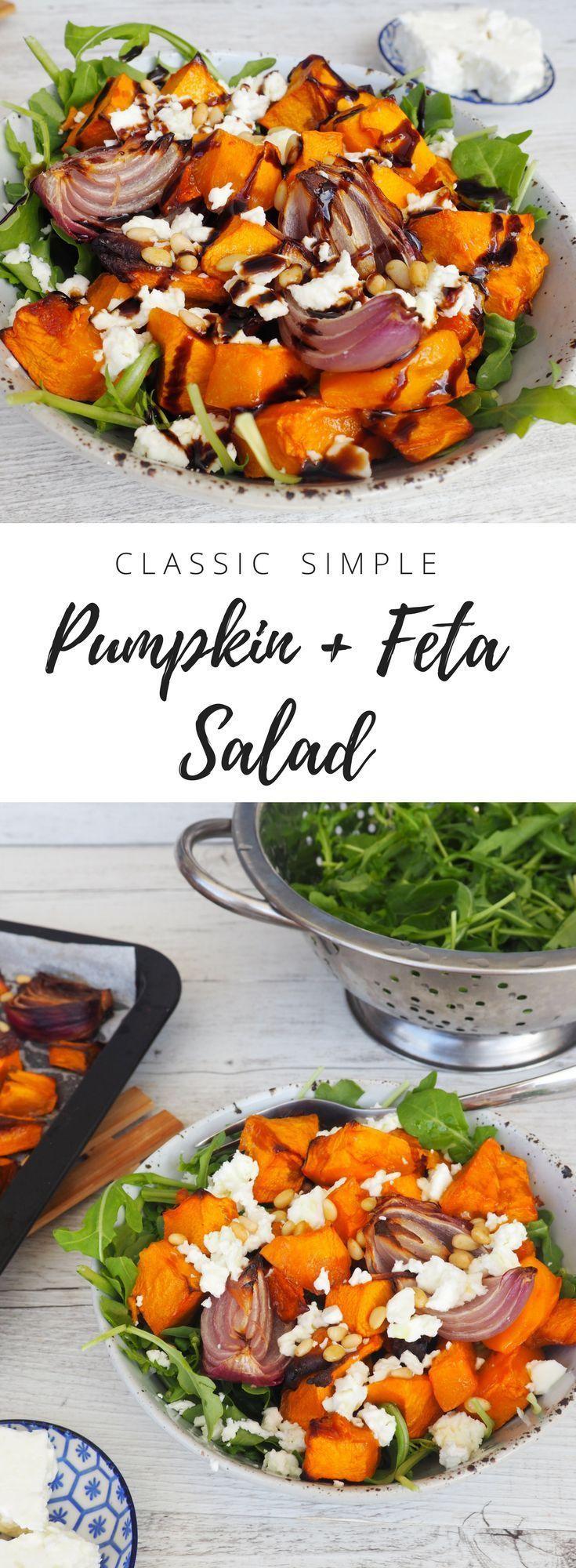 Photo of Classic Pumpkin + Feta Salad – Lyndi Cohen
