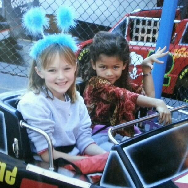 Zendaya Coleman Celeb Child Pics Zendaya Coleman