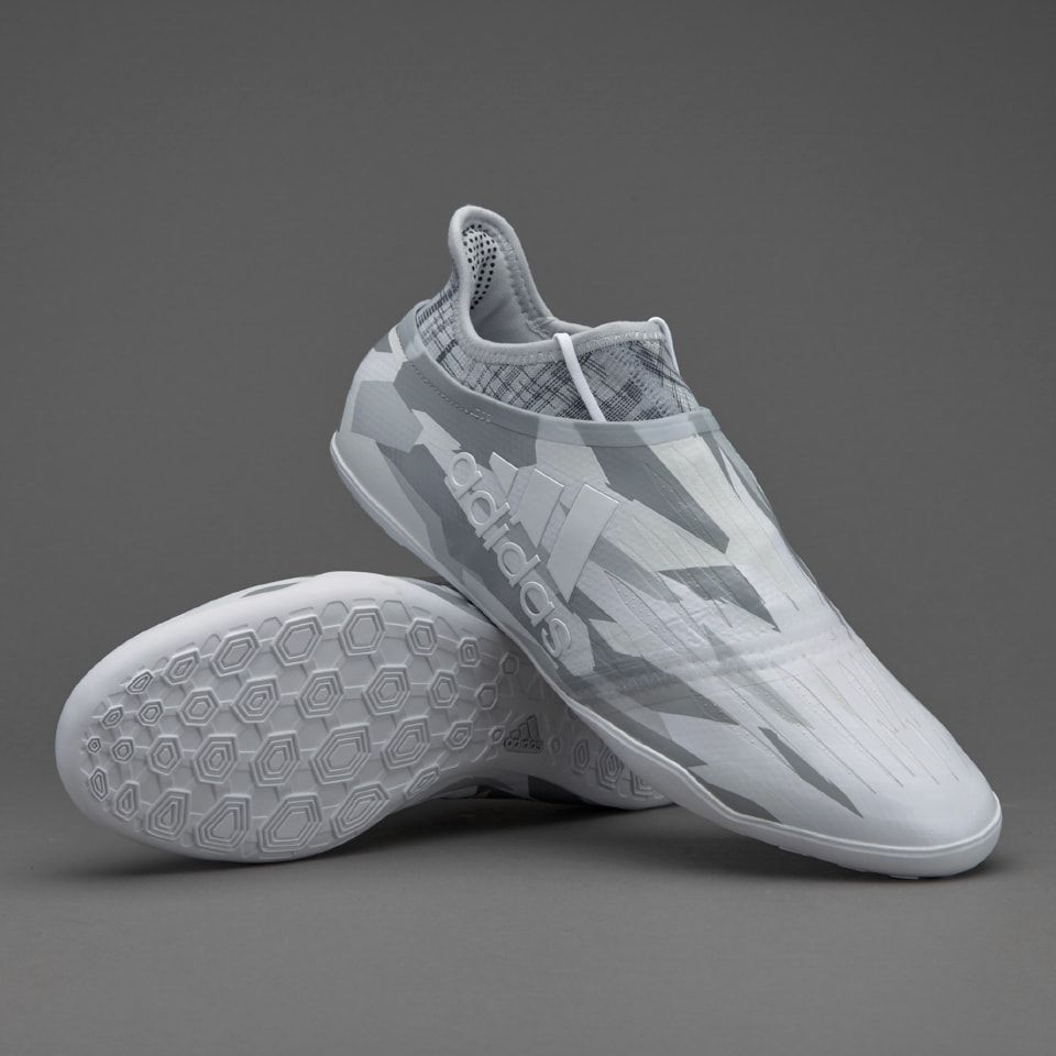 adidas X Tango 16+ Purespeed IN - White/Mid Grey | FUTSAL